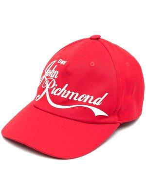 Бейсболка с логотипом John Richmond. Цвет: красный