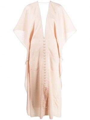Платье Adamson Roland Mouret. Цвет: розовый