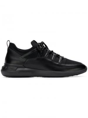 Tods кроссовки на шнуровке Tod's. Цвет: черный