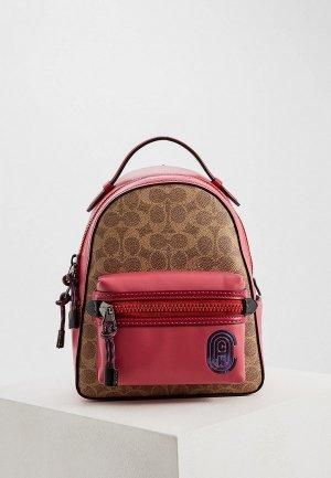 Рюкзак Coach. Цвет: розовый