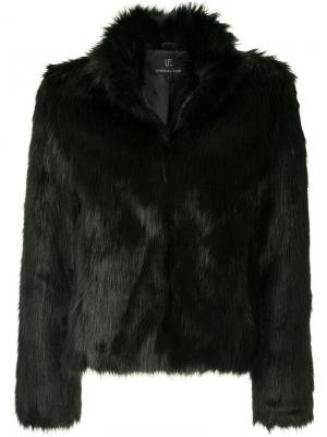 Шуба Delicious из искусственного меха Unreal Fur. Цвет: черный