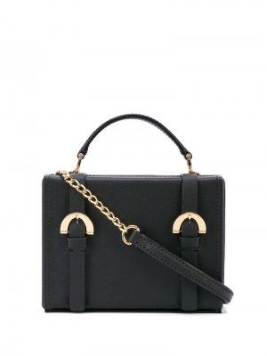 Каркасная сумка через плечо Biba Zac Posen. Цвет: черный