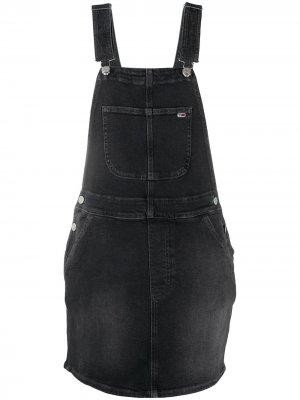Платье Heritage Tommy Jeans. Цвет: черный