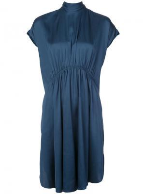 Платье Roik By Malene Birger. Цвет: синий