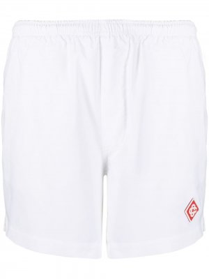 Пляжные шорты Casablanca. Цвет: белый