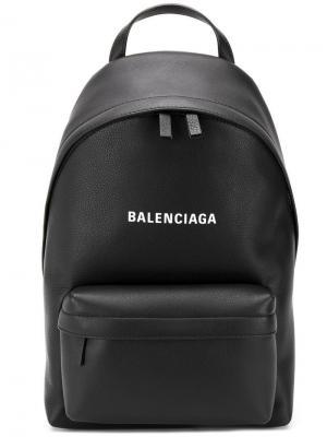 Рюкзак Everyday S Balenciaga. Цвет: черный