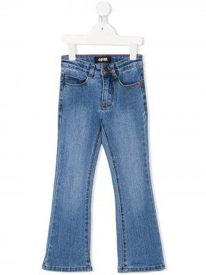 Расклешенные джинсы Molo. Цвет: синий