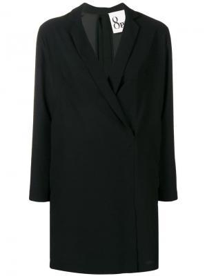 Jacket design dress 8pm. Цвет: черный