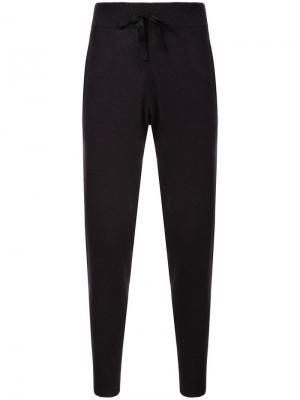 Пижамные брюки Hailey Morgan Lane. Цвет: черный