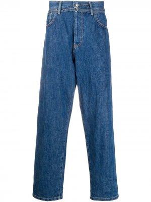 Прямые джинсы свободного кроя Acne Studios. Цвет: синий