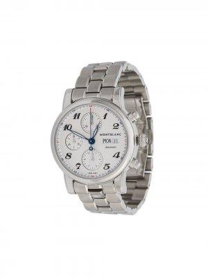 Наручные часы Star Steel 42 мм Montblanc. Цвет: серебристый