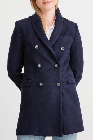 Пальто BGN. Цвет: мультицвет