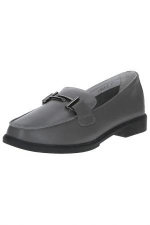 Туфли BERKONTY. Цвет: серый