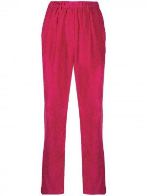 Вельветовые брюки Forte. Цвет: розовый
