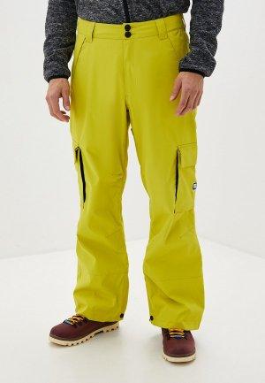 Брюки горнолыжные DC Shoes. Цвет: желтый