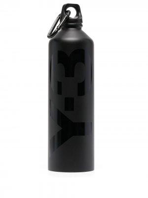 Бутылка для воды Gym Y-3. Цвет: черный