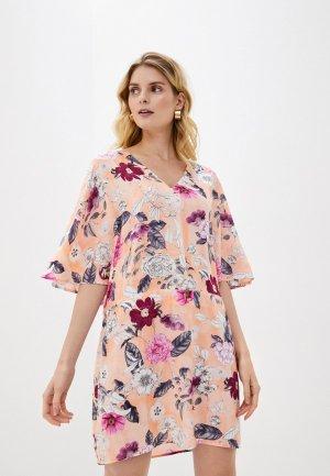 Платье пляжное Seafolly Australia. Цвет: коралловый