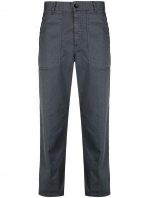 Укороченные брюки прямого кроя Nine In The Morning. Цвет: серый
