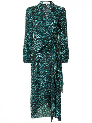 Платье Stella DVF Diane von Furstenberg. Цвет: черный