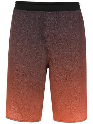 Printed swimming shorts Osklen. Цвет: желтый