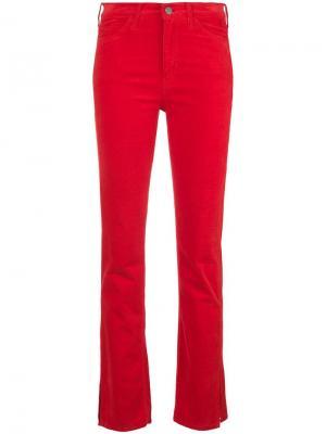 Брюки Daily кроя слим Mih Jeans. Цвет: красный
