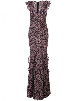 Платье Josephine Zac Posen. Цвет: черный