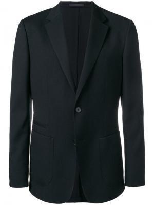 Classic fitted blazer Z Zegna. Цвет: черный
