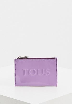 Кошелек Tous. Цвет: фиолетовый