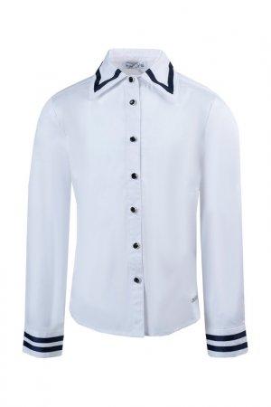 Блузка PINETTI. Цвет: белый