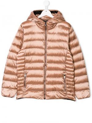 Дутая куртка с застежкой на молнии Ciesse Piumini Junior. Цвет: нейтральные цвета