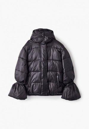 Куртка утепленная Patrizia Pepe. Цвет: черный