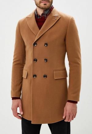 Пальто Berkytt. Цвет: бежевый
