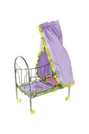 Кровать с балдахином Бабочки MARY POPPINS. Цвет: сиреневый