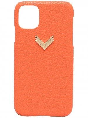 Чехол для iPhone 11/11 Pro из коллаборации с Velante Manokhi. Цвет: оранжевый