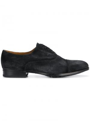 Lace-up Derby shoes Doucal's. Цвет: синий