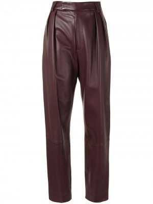 Зауженные брюки Magdeline Khaite. Цвет: красный