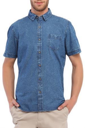 Рубашка с коротким рукавом Top Secret. Цвет: мультицвет