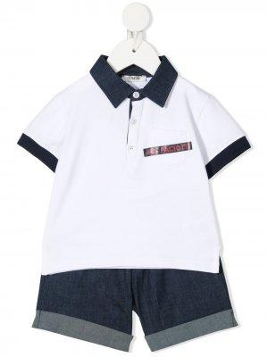 Спортивный костюм Cesare Paciotti 4Us Kids. Цвет: белый