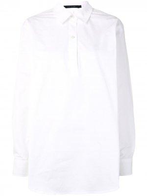 Sofie Dhoore рубашка поло с длинными рукавами D'hoore. Цвет: белый