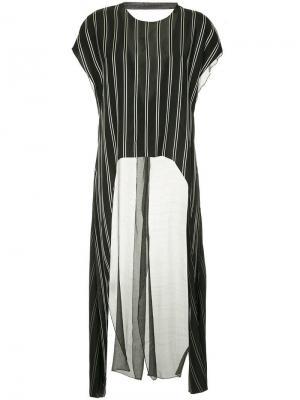 Блузка в стилистике кейпа Esteban Cortazar. Цвет: черный