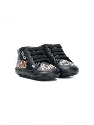 Пинетки King Dolce & Gabbana Kids. Цвет: черный