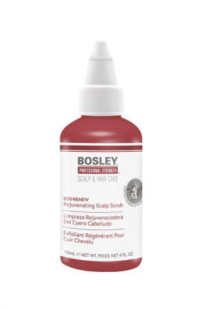 Скраб для кожи головы BOSLEY PRO. Цвет: красный