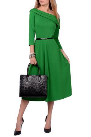 Платья FRANCESCA LUCINI. Цвет: зеленый