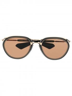 Солнцезащитные очки Nacht Two Dita Eyewear. Цвет: черный
