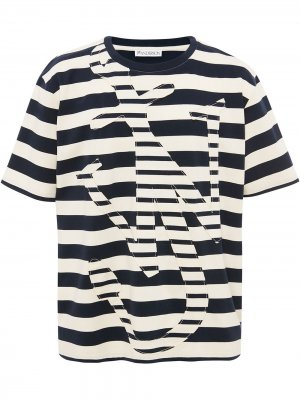 OVERSIZE ANCHOR T-SHIRT JW Anderson. Цвет: белый