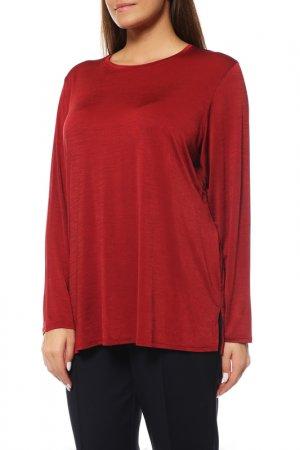 Блуза Alain Weiz. Цвет: бордовый