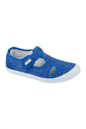 Текстильная обувь MURSU. Цвет: синий