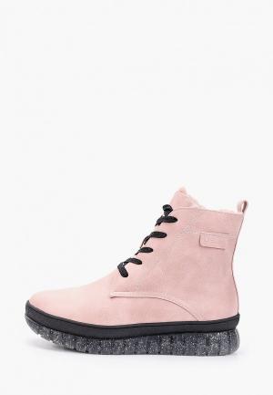 Ботинки Betsy. Цвет: розовый