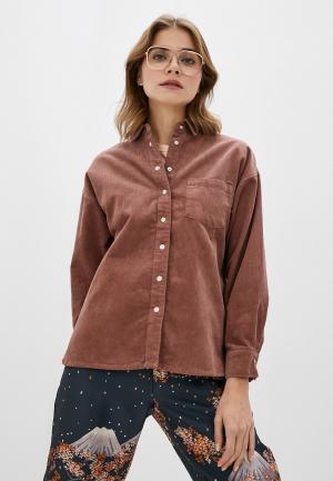 Рубашка Sela. Цвет: бежевый