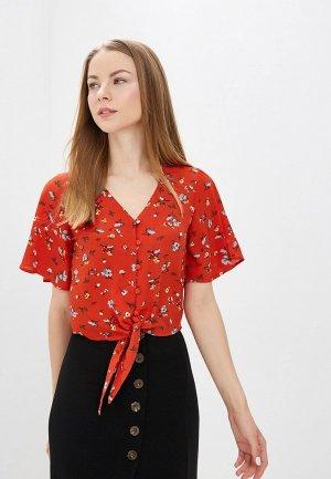 Блуза Brave Soul. Цвет: красный